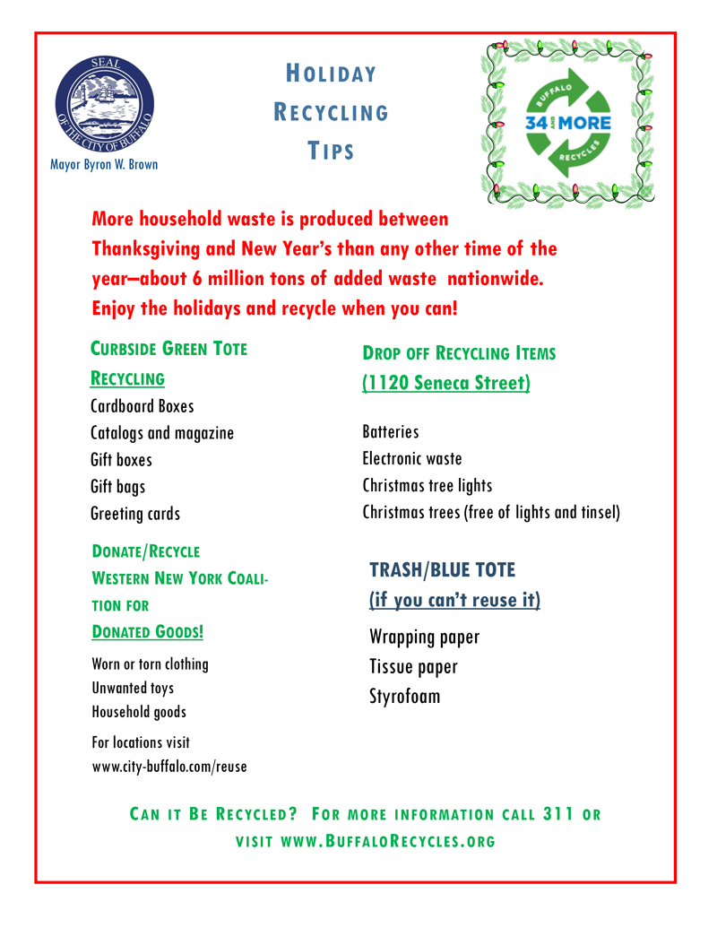 Mayor-Brown-Holiday-Recycling-tips-2016
